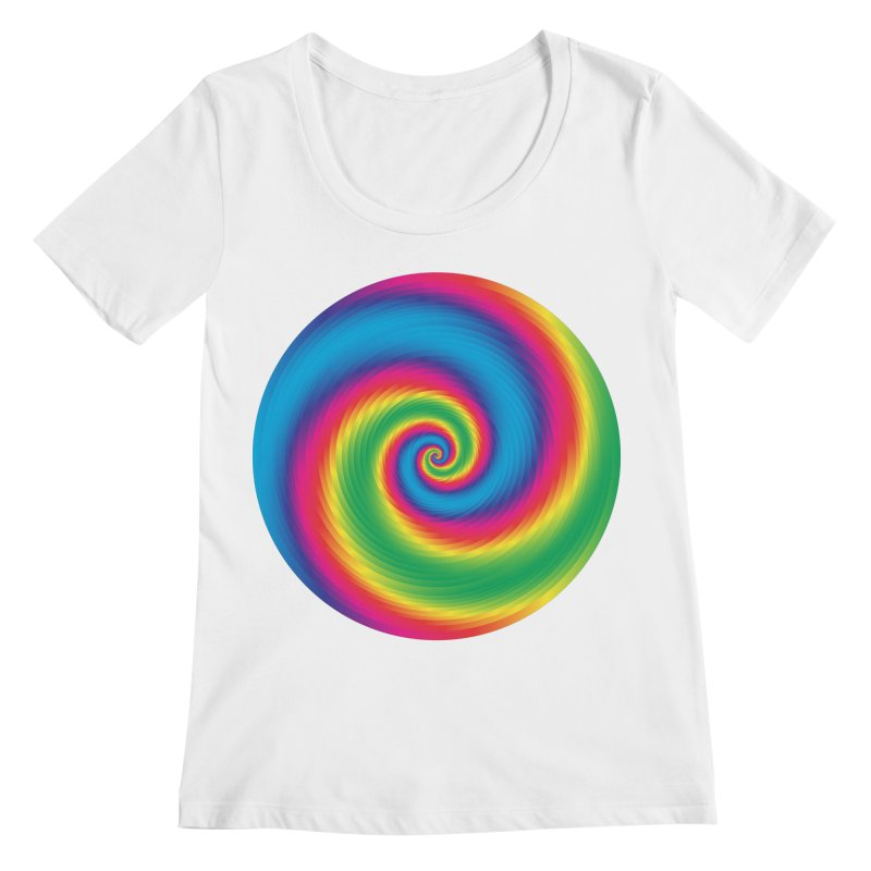 what is snapchat Women's Scoopneck by upso's Artist Shop