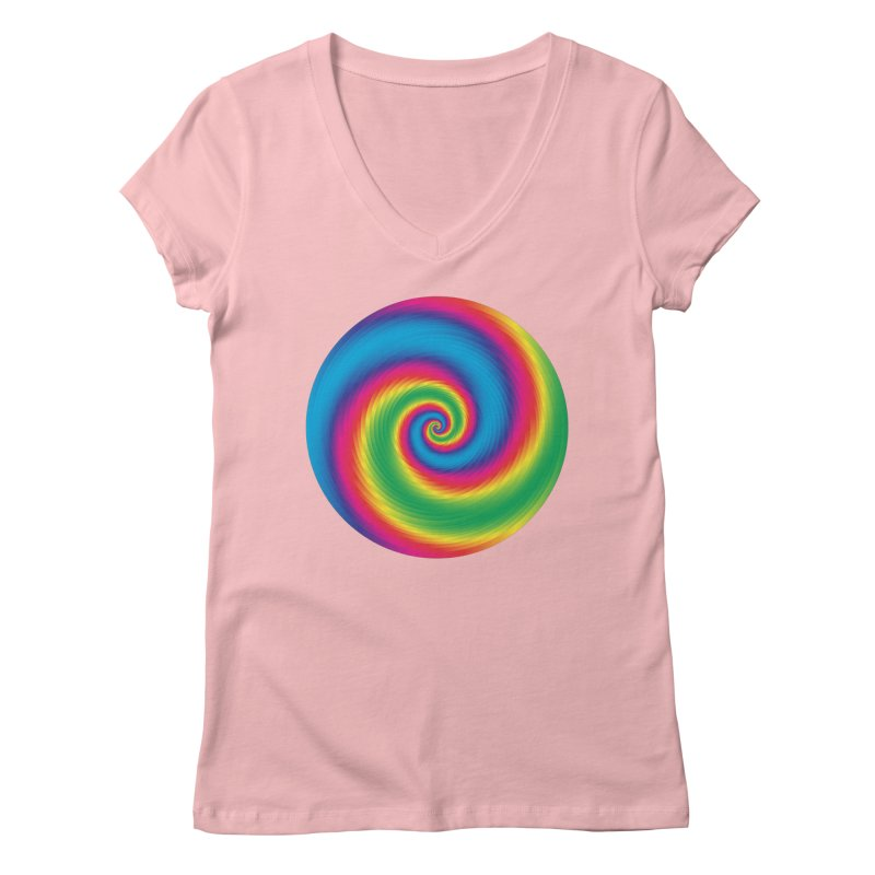 what is snapchat Women's Regular V-Neck by upso's Artist Shop