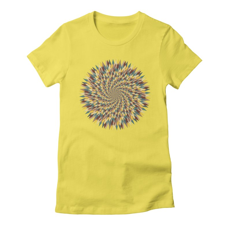 pancakes Women's Fitted T-Shirt by upso's Artist Shop