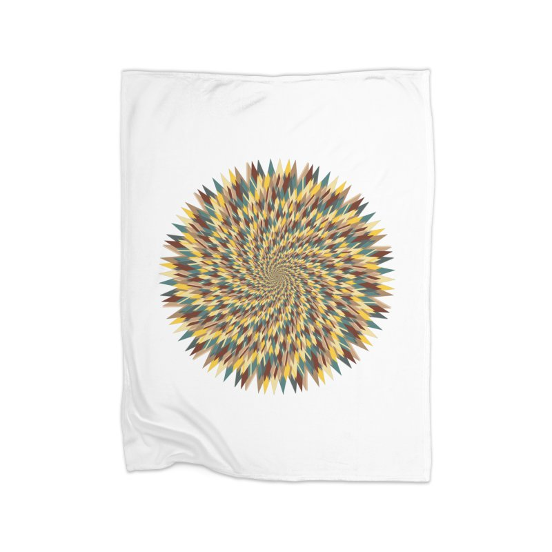 pancakes Home Fleece Blanket Blanket by upso's Artist Shop