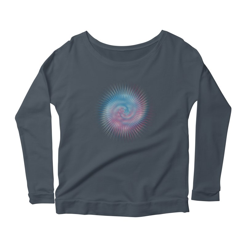 your favorite t shirt Women's Scoop Neck Longsleeve T-Shirt by upso's Artist Shop