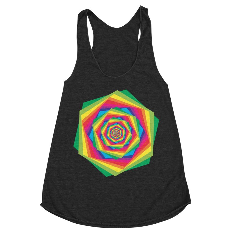 i hate to burst your bubble Women's Racerback Triblend Tank by upso's Artist Shop