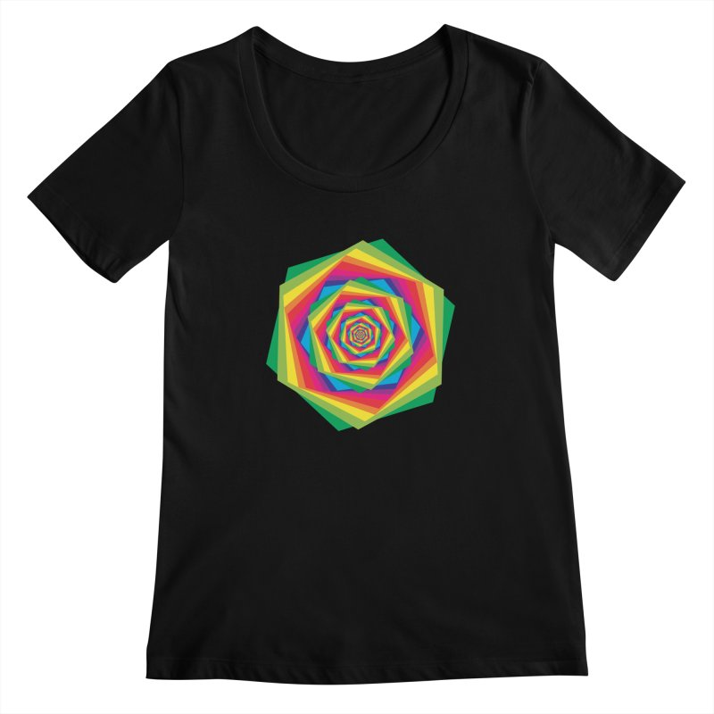 i hate to burst your bubble Women's Scoopneck by upso's Artist Shop