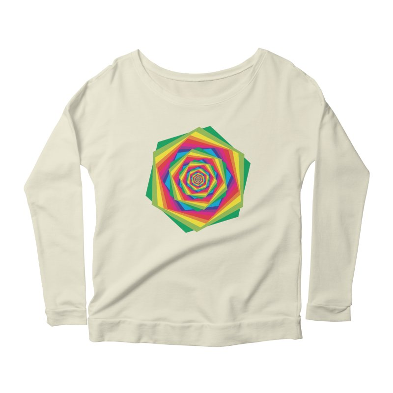 i hate to burst your bubble Women's Longsleeve Scoopneck  by upso's Artist Shop
