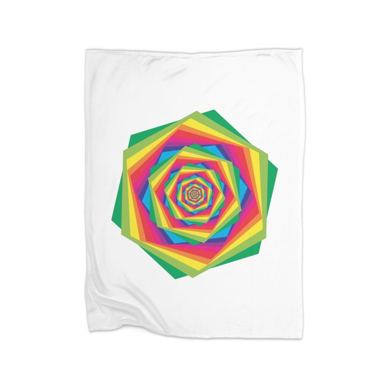 i hate to burst your bubble Home Fleece Blanket Blanket by upso's Artist Shop