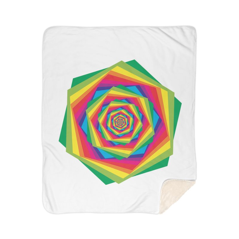 i hate to burst your bubble Home Sherpa Blanket Blanket by upso's Artist Shop