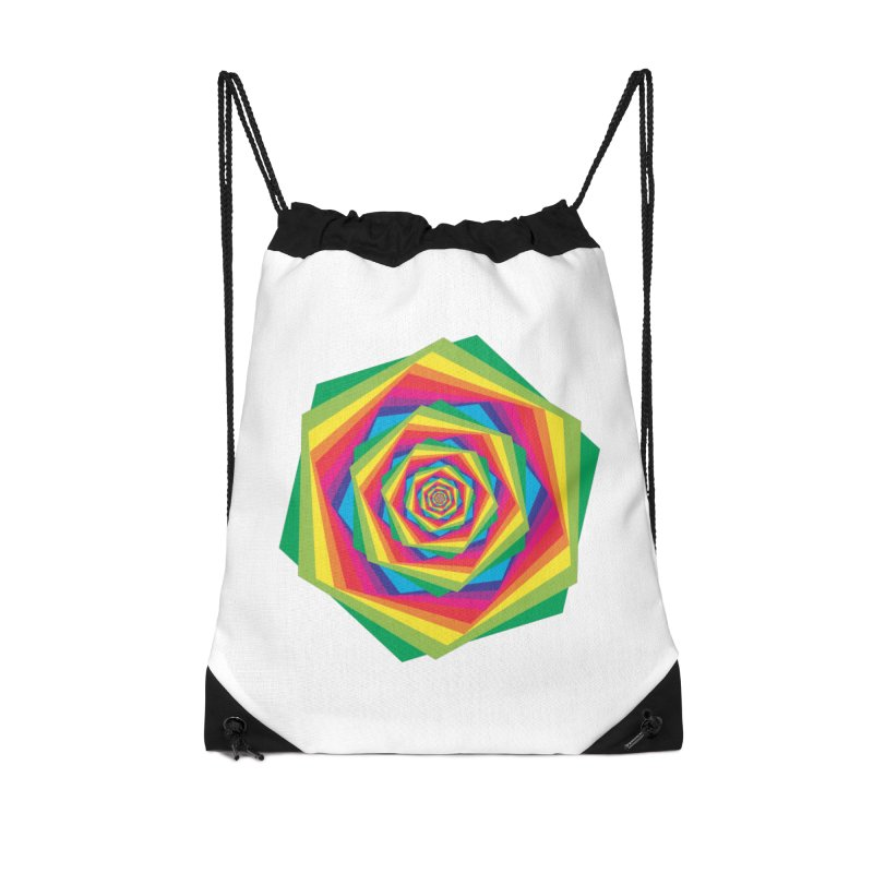 i hate to burst your bubble Accessories Drawstring Bag Bag by upso's Artist Shop
