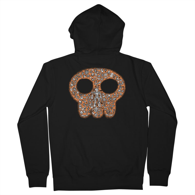 Skullcrobe Men's Zip-Up Hoody by upstartthunder's Artist Shop