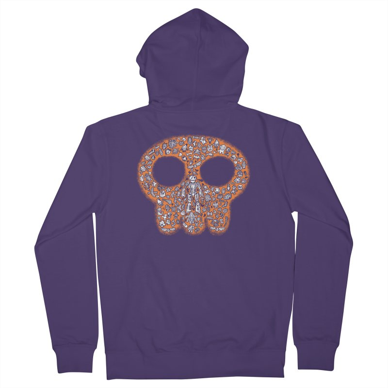 Skullcrobe Women's Zip-Up Hoody by upstartthunder's Artist Shop