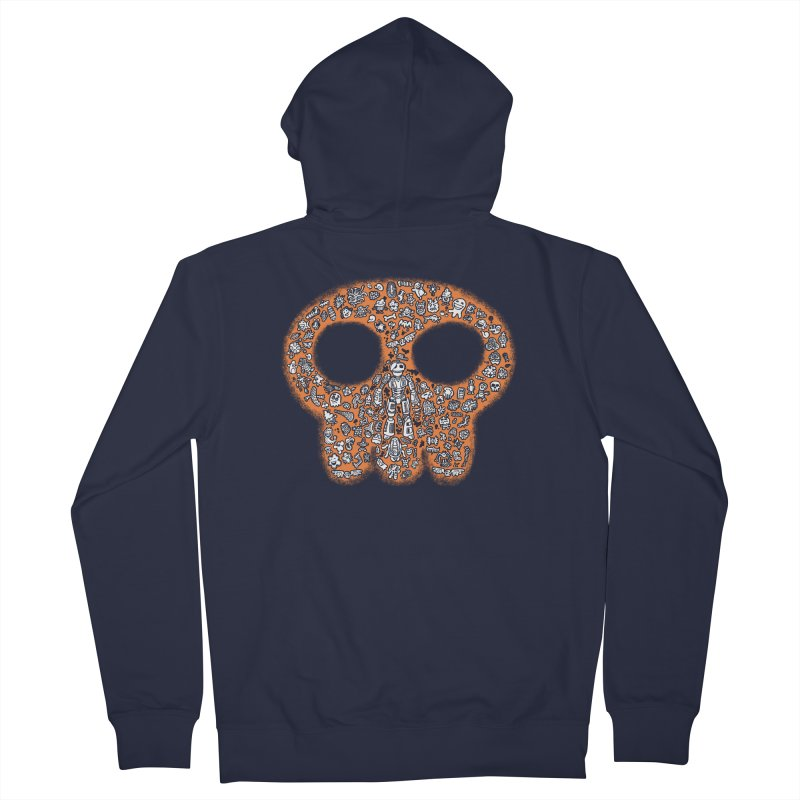 Skullcrobe Women's Zip-Up Hoody by upstartthunder's Artist Shop