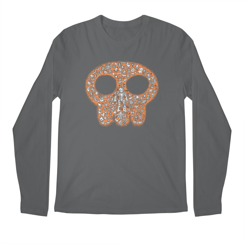 Skullcrobe Men's Longsleeve T-Shirt by upstartthunder's Artist Shop