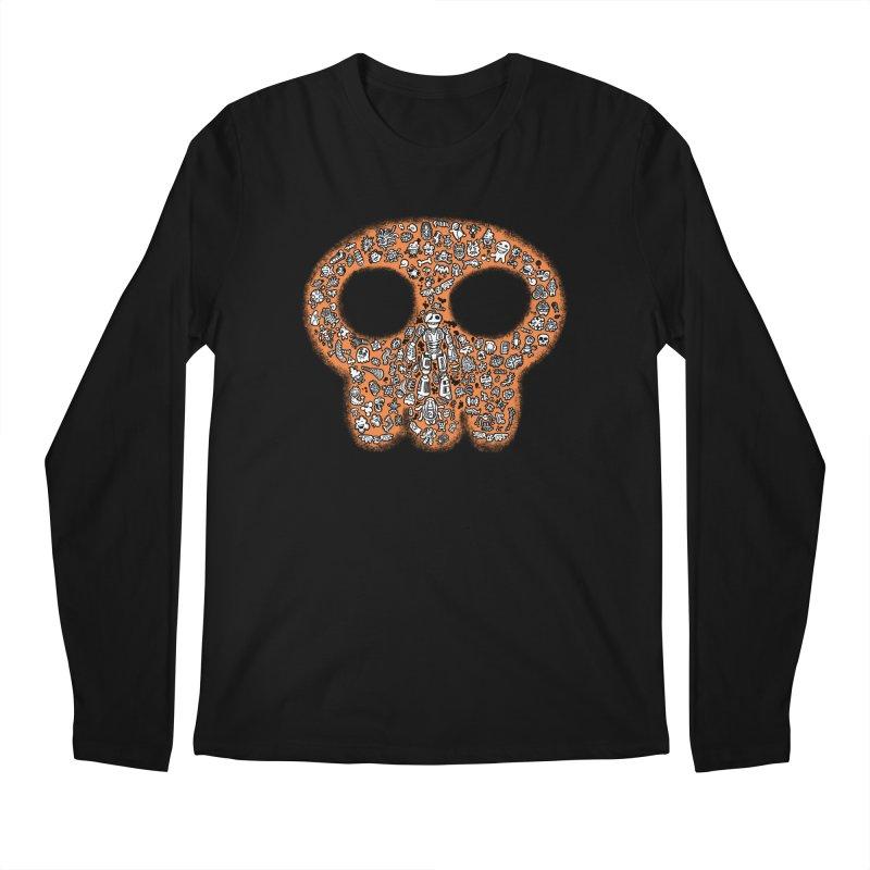 Skullcrobe Men's Longsleeve T-Shirt by upstartthunder's Artist Shop