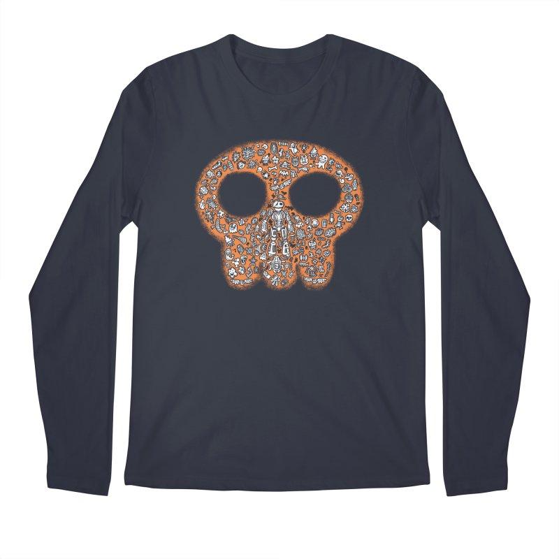Skullcrobe Men's Regular Longsleeve T-Shirt by upstartthunder's Artist Shop