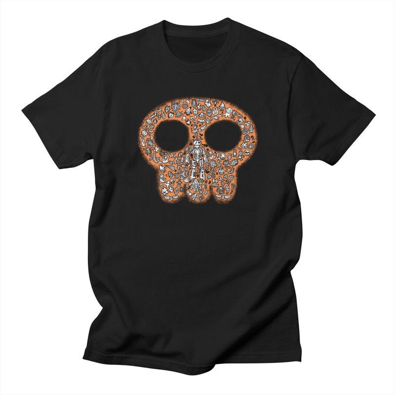 Skullcrobe Men's Regular T-Shirt by upstartthunder's Artist Shop