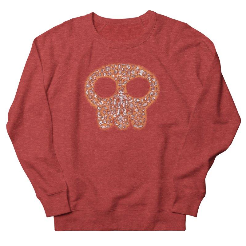 Skullcrobe Women's French Terry Sweatshirt by upstartthunder's Artist Shop