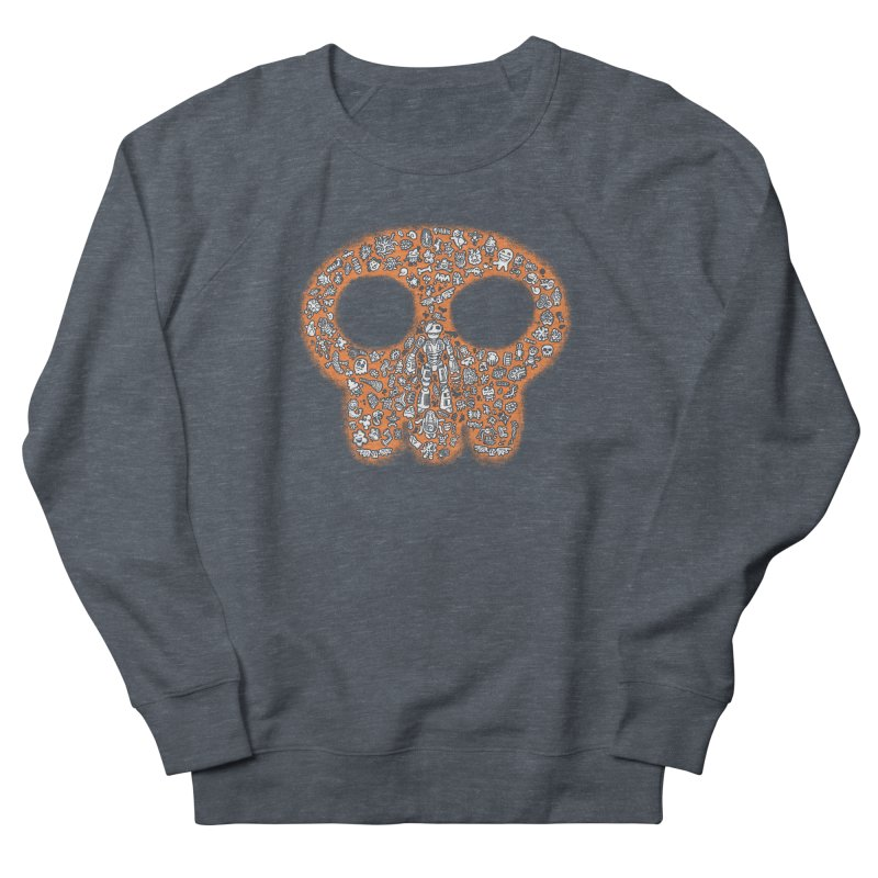 Skullcrobe Men's French Terry Sweatshirt by upstartthunder's Artist Shop