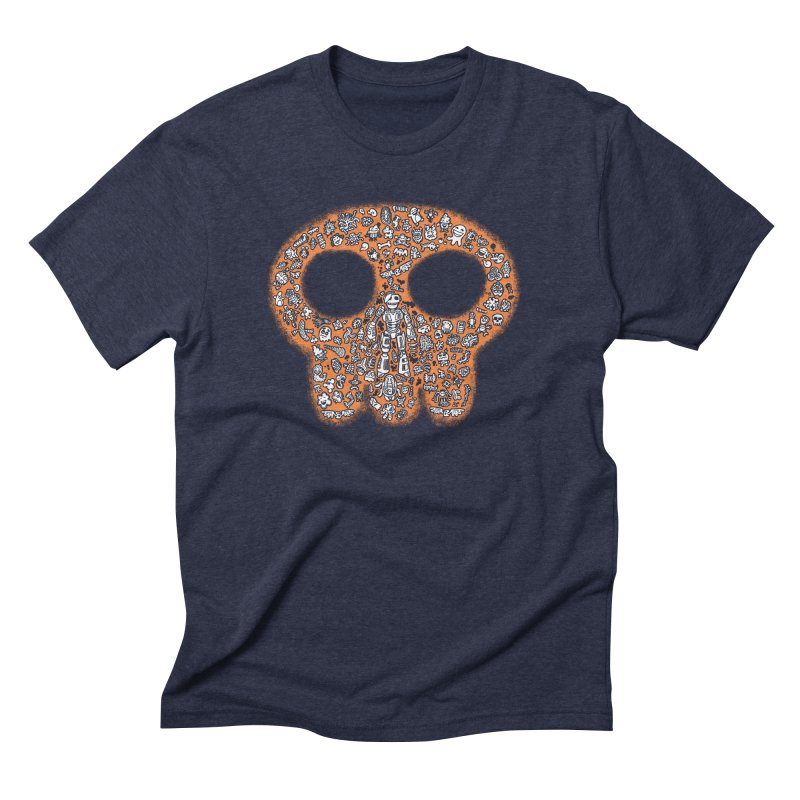 Skullcrobe Men's Triblend T-Shirt by upstartthunder's Artist Shop