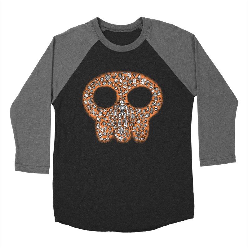 Skullcrobe Women's Baseball Triblend Longsleeve T-Shirt by upstartthunder's Artist Shop