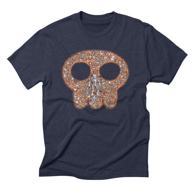 Skullcrobe Men's Triblend T-shirt by upstartthunder's Artist Shop