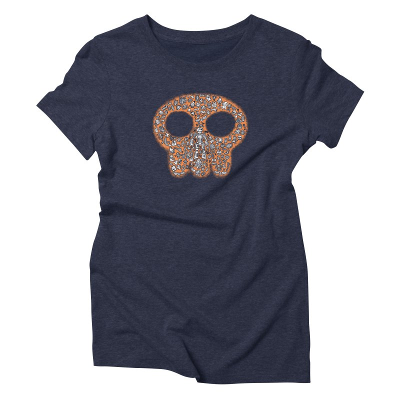 Skullcrobe Women's Triblend T-shirt by upstartthunder's Artist Shop