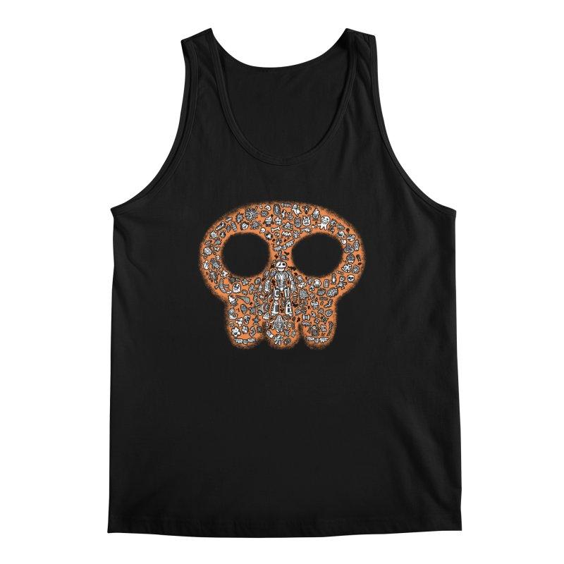 Skullcrobe Men's Regular Tank by upstartthunder's Artist Shop