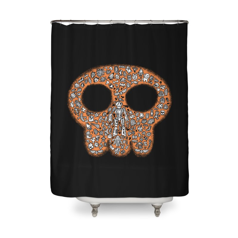 Skullcrobe Home Shower Curtain by upstartthunder's Artist Shop