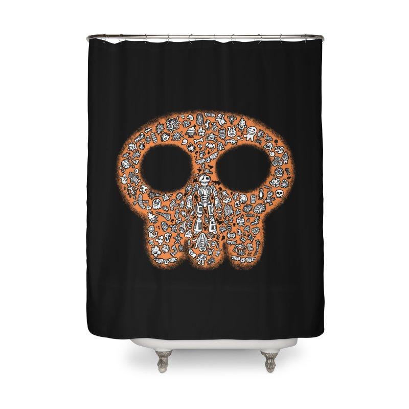 Skullcrobe Home Shower Curtain by upstartthunder's Artist Shop