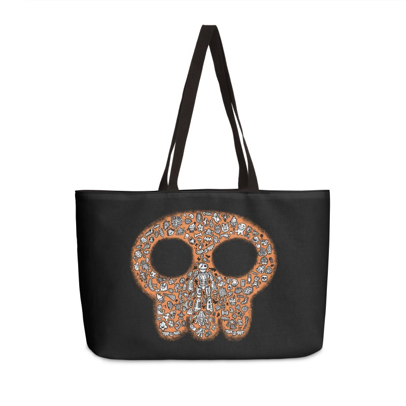 Skullcrobe Accessories Bag by upstartthunder's Artist Shop