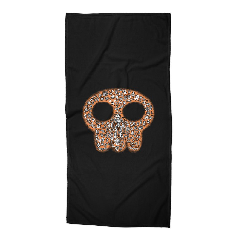 Skullcrobe Accessories Beach Towel by upstartthunder's Artist Shop