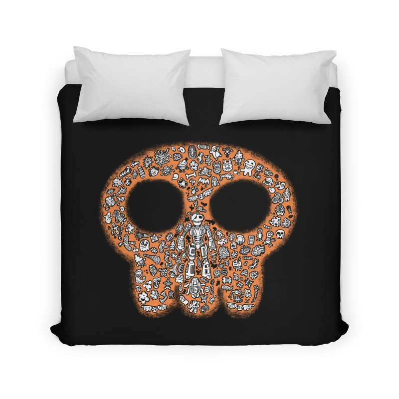 Skullcrobe Home Duvet by upstartthunder's Artist Shop