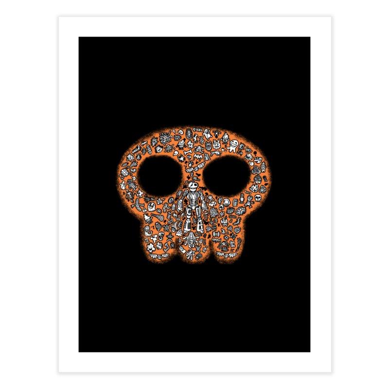Skullcrobe Home Fine Art Print by upstartthunder's Artist Shop