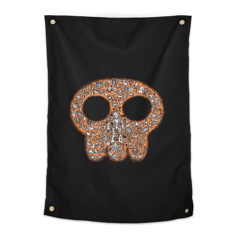 Skullcrobe Home Tapestry by upstartthunder's Artist Shop