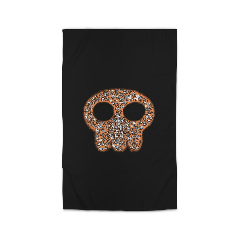 Skullcrobe Home Rug by upstartthunder's Artist Shop