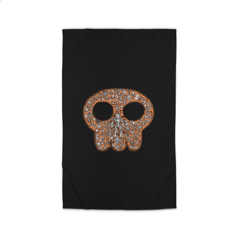 Skullcrobe Home Rug by upstartthunder's Artist Shop