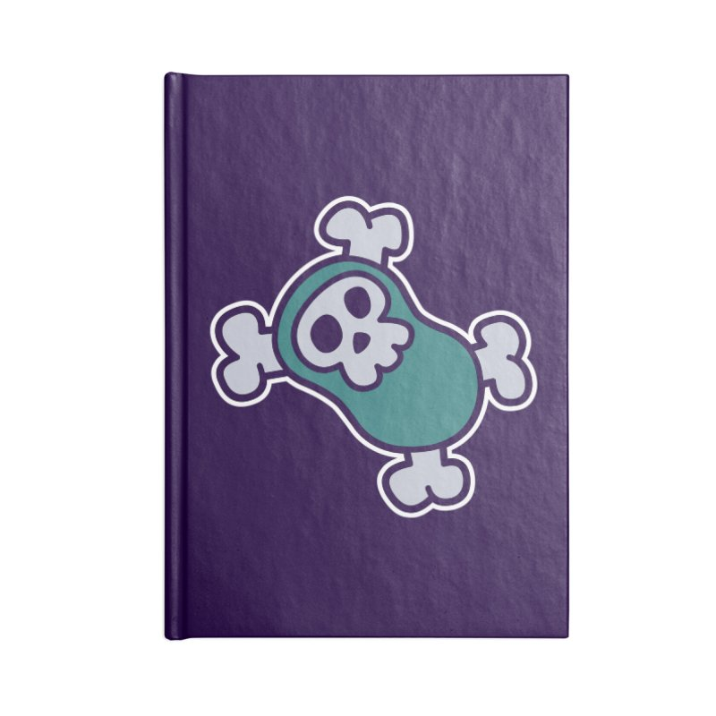 BoneBean Accessories Lined Journal Notebook by upstartthunder's Artist Shop