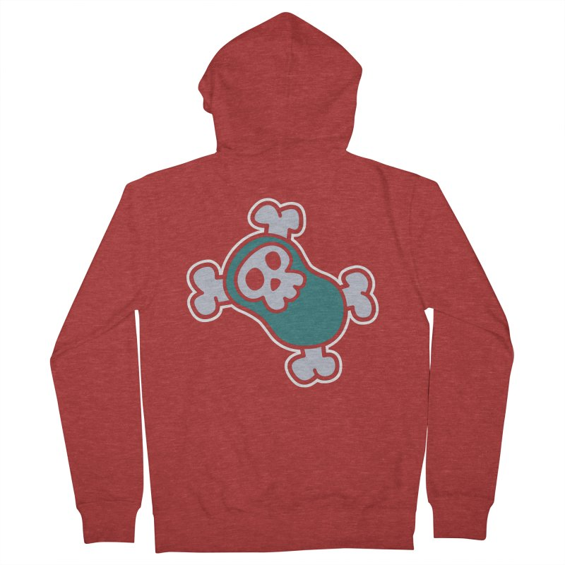 BoneBean Women's Zip-Up Hoody by upstartthunder's Artist Shop