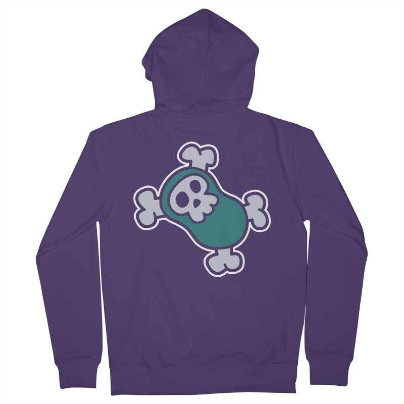 BoneBean Women's French Terry Zip-Up Hoody by upstartthunder's Artist Shop