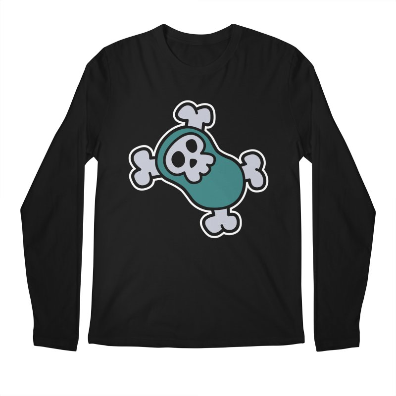 BoneBean Men's Longsleeve T-Shirt by upstartthunder's Artist Shop