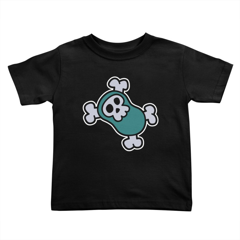 BoneBean Kids Toddler T-Shirt by upstartthunder's Artist Shop