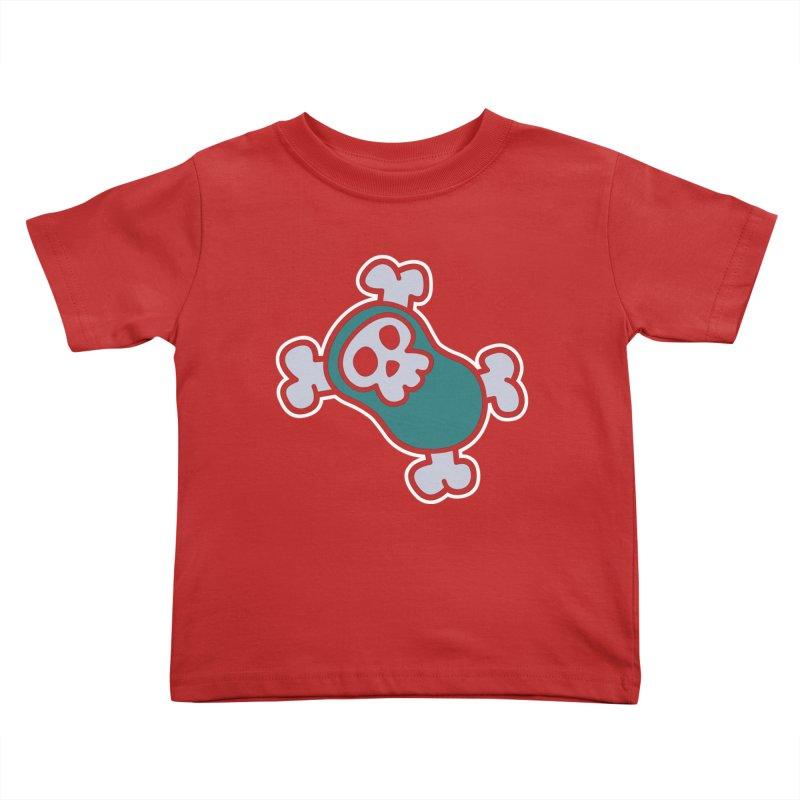BoneBean Kids Toddler T-Shirt by upstartthunder's Artist Shop