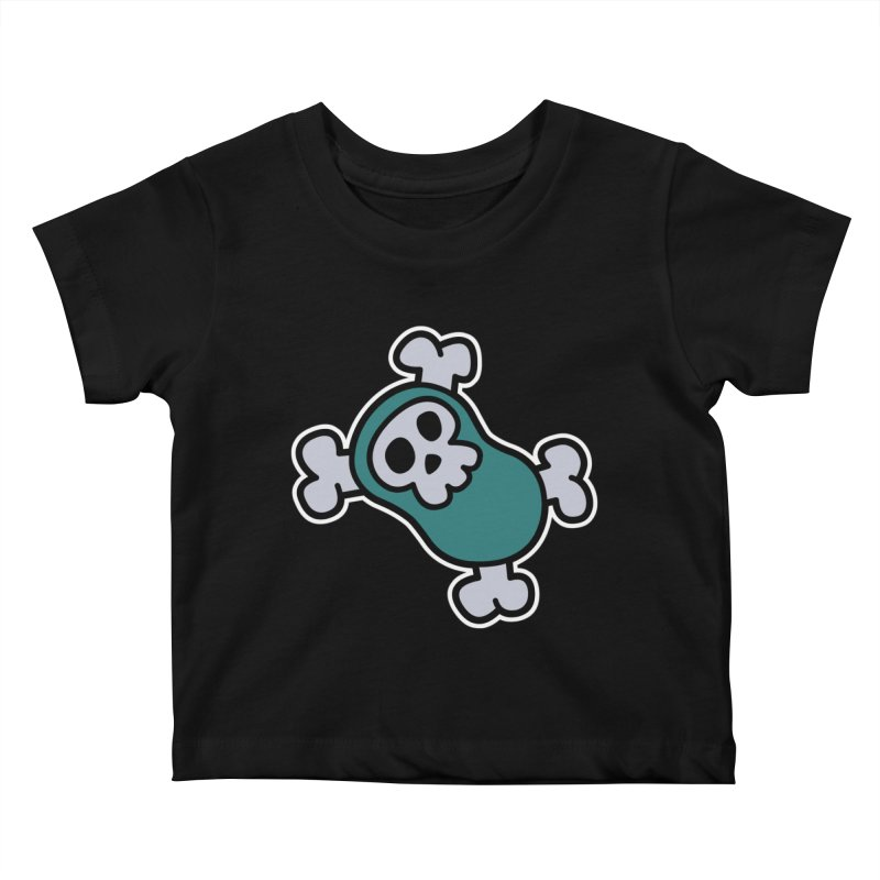 BoneBean Kids Baby T-Shirt by upstartthunder's Artist Shop