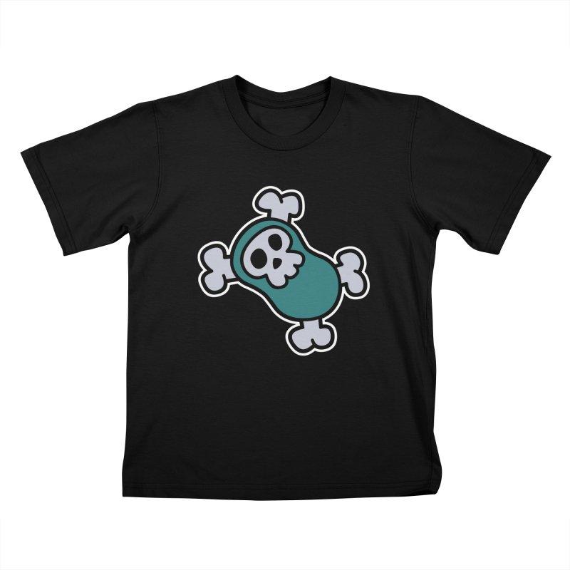 BoneBean Kids T-Shirt by upstartthunder's Artist Shop