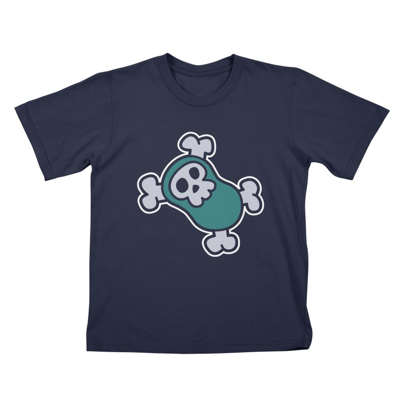 BoneBean Kids T-Shirt by upstartthunder's Artist Shop