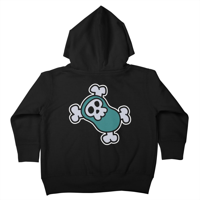 BoneBean Kids Toddler Zip-Up Hoody by upstartthunder's Artist Shop