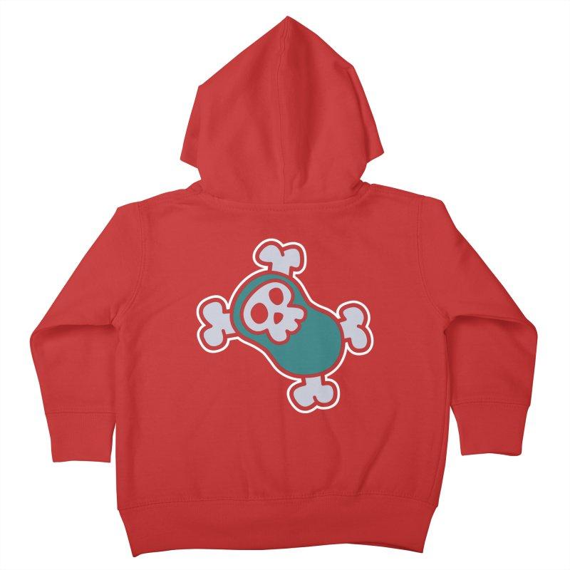 BoneBean Kids Toddler Zip-Up Hoody by upstartthunder's Artist Shop