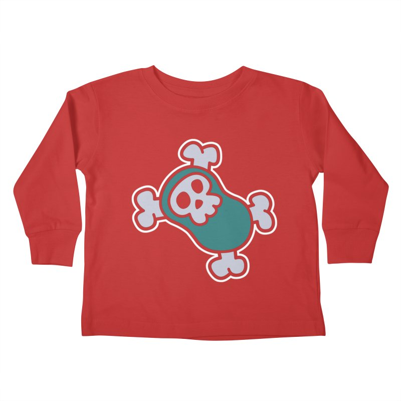 BoneBean Kids Toddler Longsleeve T-Shirt by upstartthunder's Artist Shop