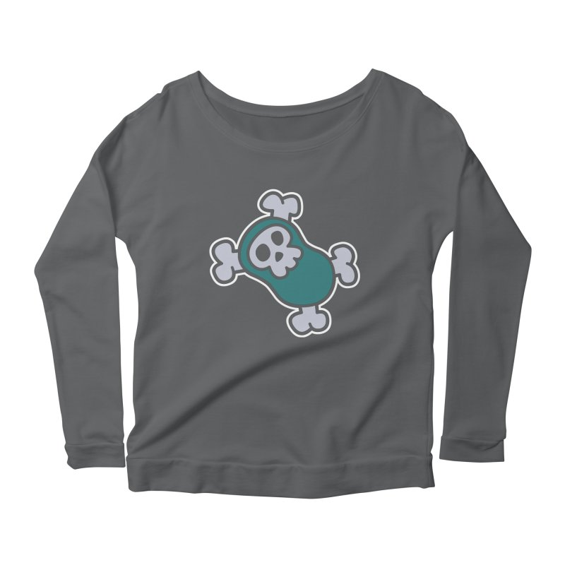 BoneBean Women's Scoop Neck Longsleeve T-Shirt by upstartthunder's Artist Shop