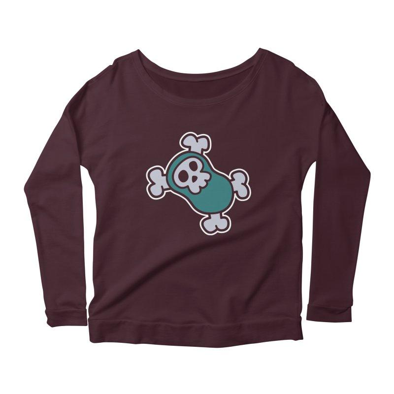BoneBean Women's Scoop Neck Longsleeve T-Shirt by upstartthunder's Artist Shop
