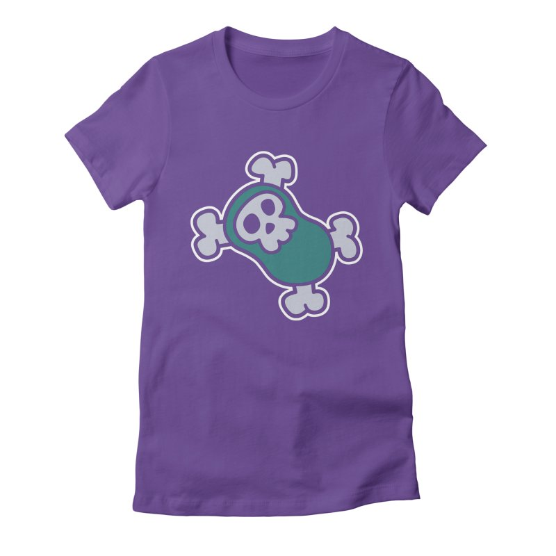 BoneBean Women's Fitted T-Shirt by upstartthunder's Artist Shop
