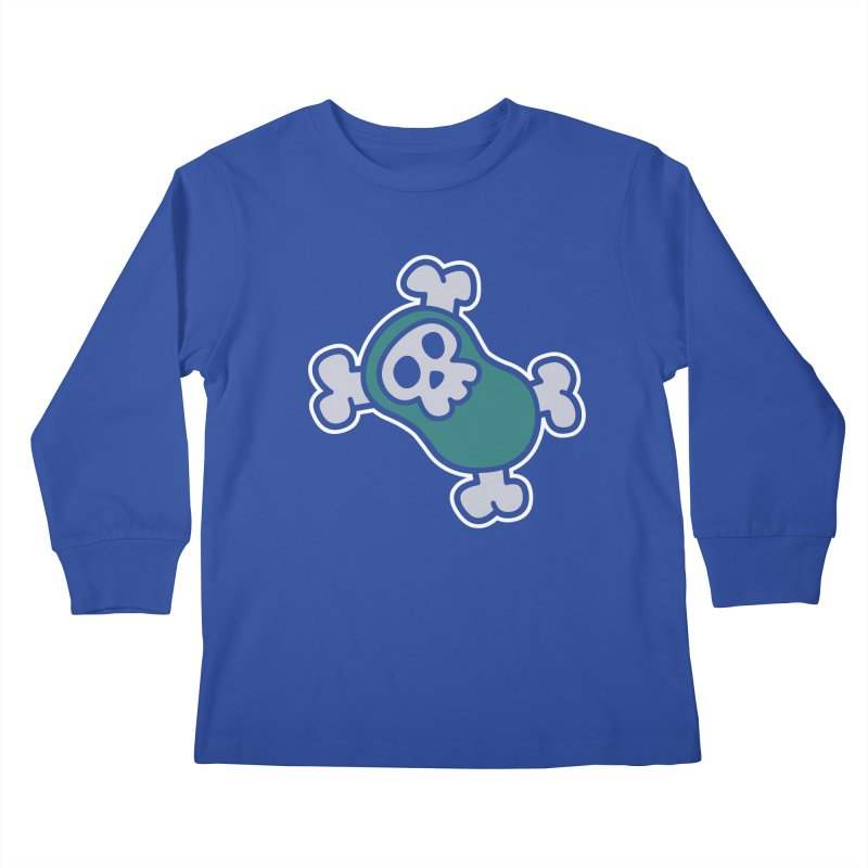 BoneBean Kids Longsleeve T-Shirt by upstartthunder's Artist Shop